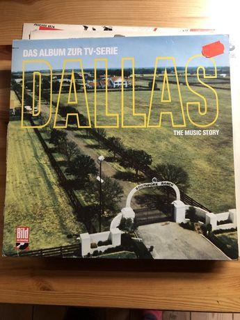 Płyta winylowa Dallas The Music Story r. 1978