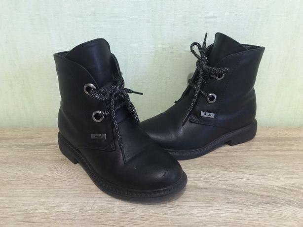 Демисезонные ботинки для девочки р.31, 20см