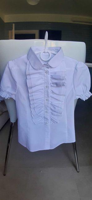 Нарядная блузка девочке