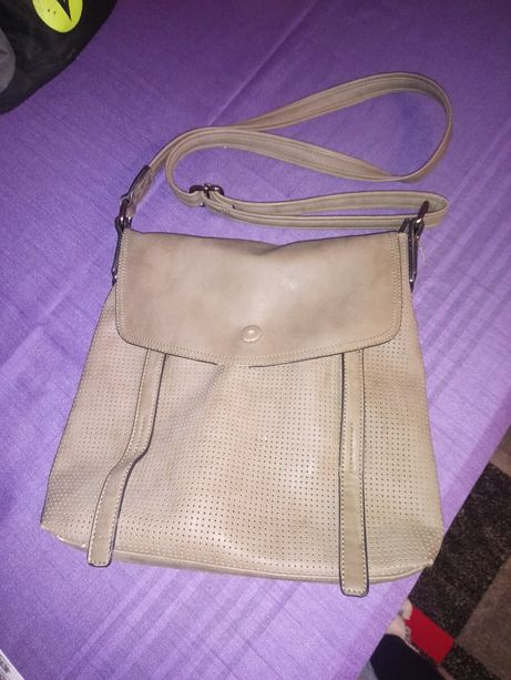 Listonoszka torebka na ramie skorzana torba na ramie listonoszka