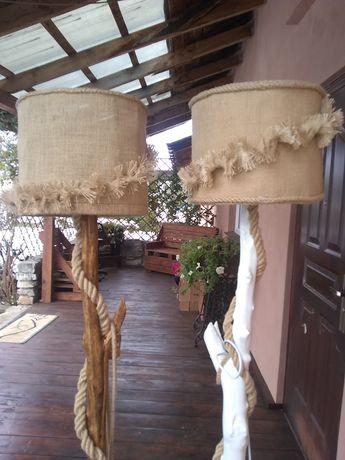 Lampy podłogowe z konara drzewa
