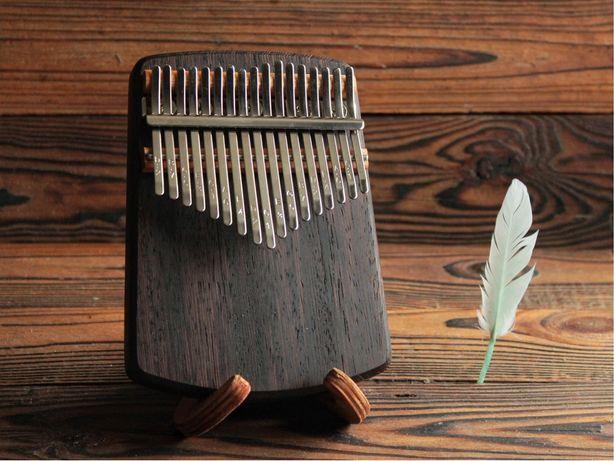 Калимба на 17 нот из экзотической древесины