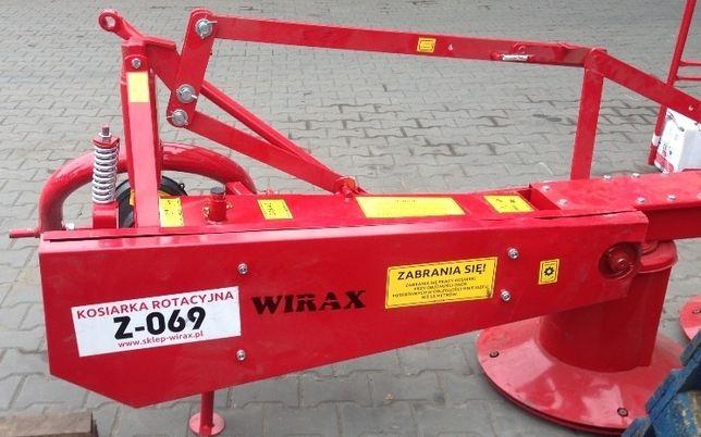 Польская роторная косилка WIRAX Виракс 1,35 оригинал