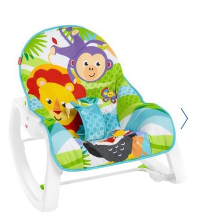 Дитяче крісло-качалка FISHER PRICE (без жодних пошкоджень) з Польщі
