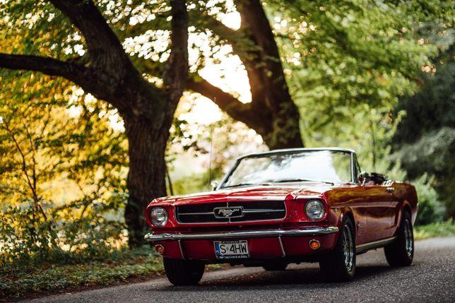 Samochód do ślubu Ford Mustang 1965