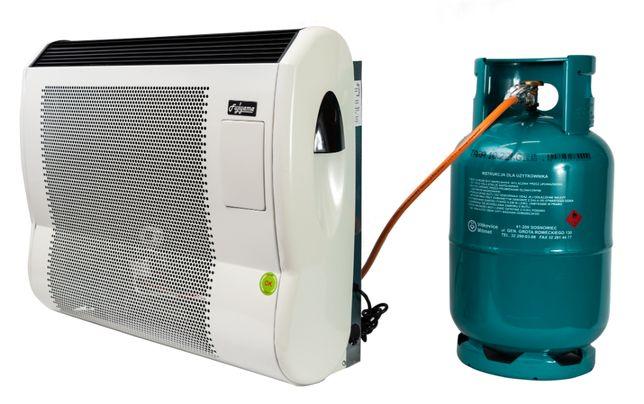 Ogrzewacz gazowy 10 kW FHS +wentylator nagrzewnica piecyk konwektor
