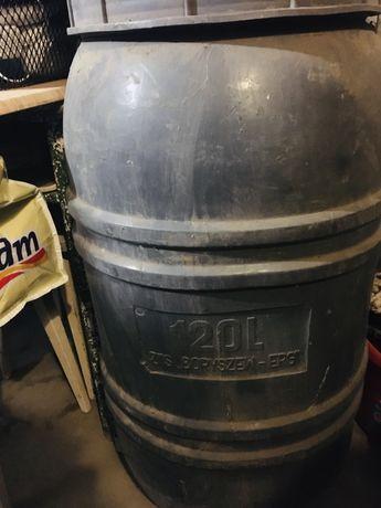 Beczka 100 litrów z zakrętką, zbiornik, pojemnik na wodę