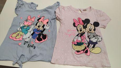 2 szt. Bluzka z Minnie Mouse 92