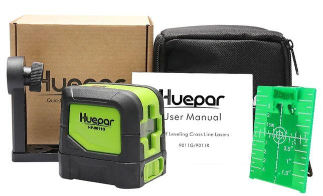 Лазерный уровень Huepar HP-9011G зелёные лучи