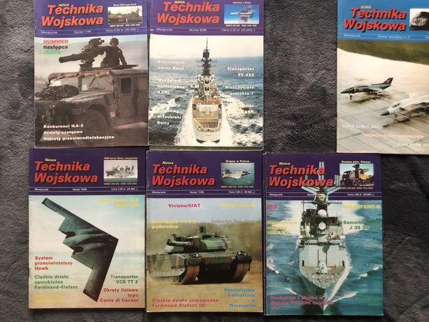 Nowa Technika Wojskowa - numery z roku 1996