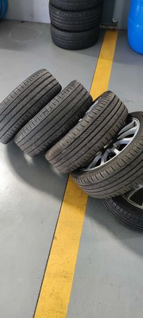 5 jantes seat Ibiza 6k cupra com pneus 195/45r16