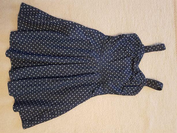 Jeansowa sukienka 122