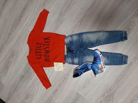 Dla chłopca bluza r 92-98