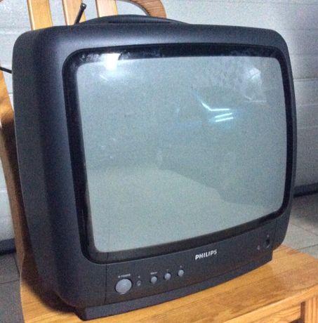 Televisão Philips com comando