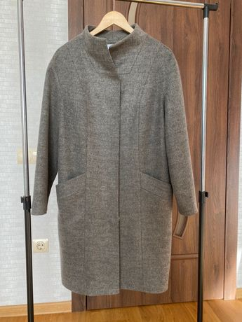 Пальто vovk 80% шерсть L Л