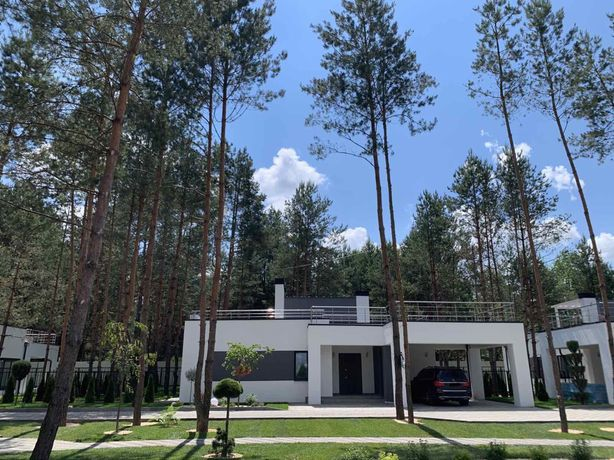 Дом в сосновом лесу! 15 мин до Киева! КГ FOREST VILLA