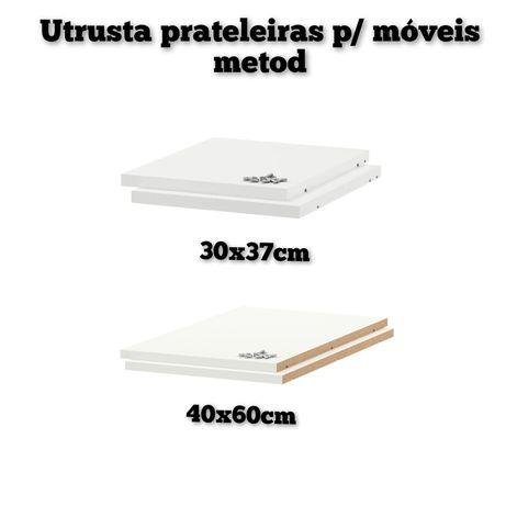 Prateleira ikea metod armário móvel cozinha 30 e 40cm utrusta