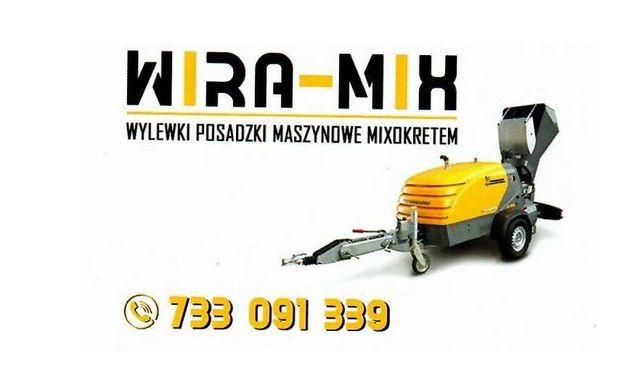 Wylewki maszynowe, styrobeton  Łask i okolice