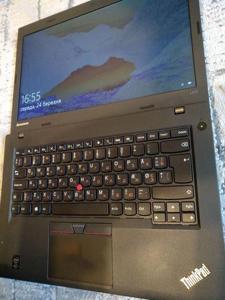 Lenovo ThinkPad L450 14' Lcd HD, Core i5-4300U/8gb ddr3/ SSD-256gb