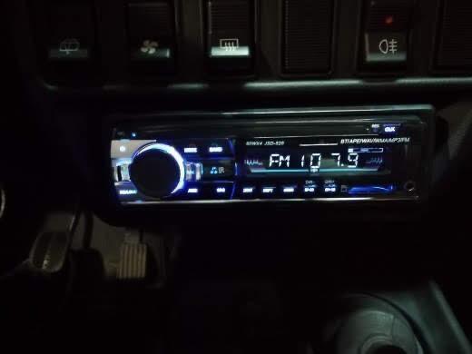 Auto-Rádio Mp5 1Din Universal Bluetooth/Kit mãos livres/60x4w NOVO!!