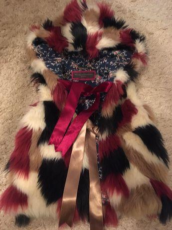 Milana Bondarenko,Monnalisa,Chanel,Dior дизайнерский меховой жилет