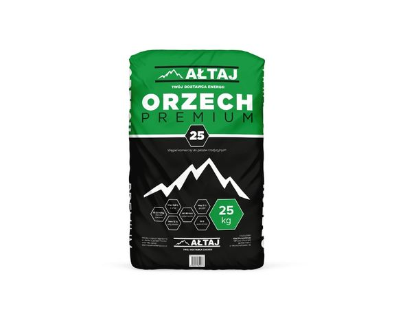 Orzech premium 25 kg, wysokie parametry, ekogroszek, pellet Wrocław