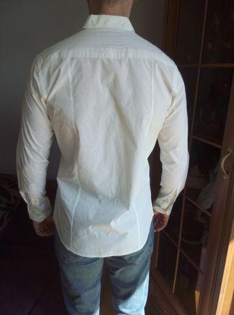 Koszula Elegancka Nowa Biała Off White L