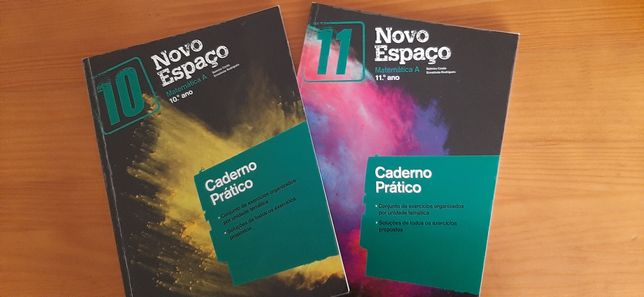 Caderno de atividades de Matemática A 10, 11 e 12 ano