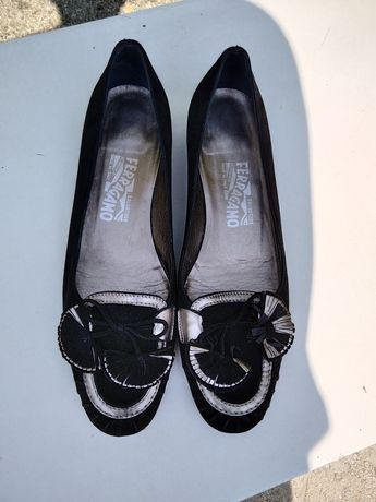 Salvatore Ferragamo pantofelki baleriny. ORYGINALNE.Możliwa zamiana :)