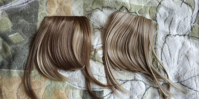 Женский парик новый Хвост Челка