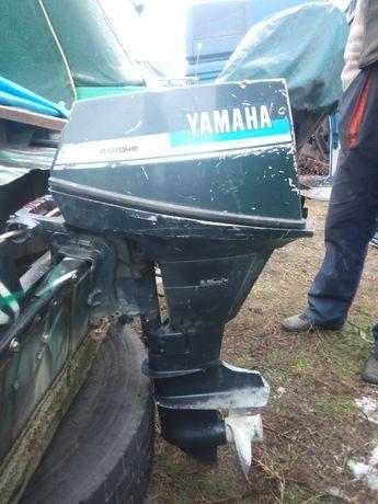 Лодочный мотор Ямаха 4 такта 9.9л.с.