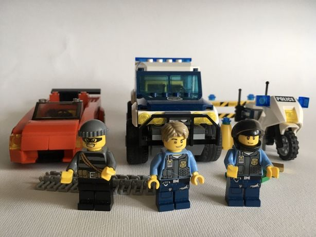 Lego Police 60007 High Speed Chase. Оригинал Лего Полицейская погоня