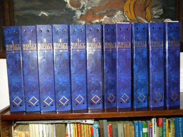 Kolekcja Wielcy Malarze CAŁOŚĆ ! WSZYSTKIE 165 zeszytów OKAZJA 11 seg.