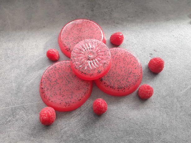 Malinowe mydełko glicerynowe