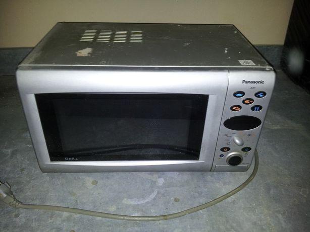 Mikrofalówka Panasonic - Uszkodzona