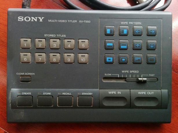 Teclado Sony Multi-Video Titler XV-T550