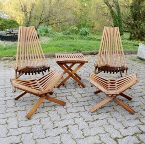 Крекло шезлонг, кресло кентукки, садовое кресло, кресло из дерева