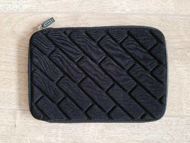 Etui Tablet 7/8 cali Czarne zamek bezpieczne ochornne