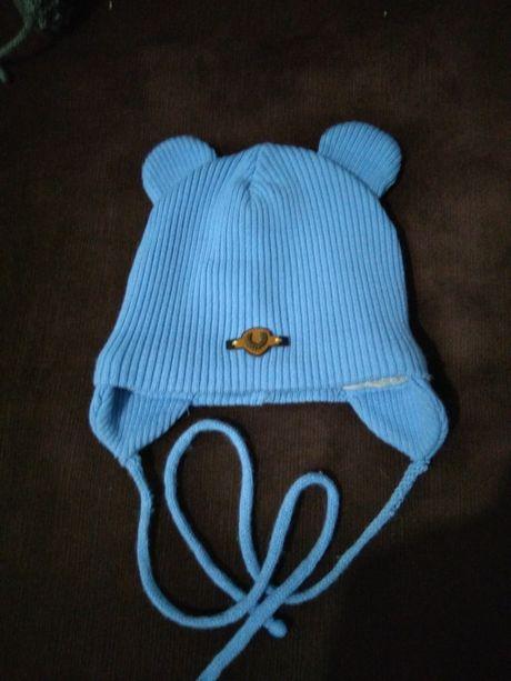 Деми шапка для мальчика. Весення шапка