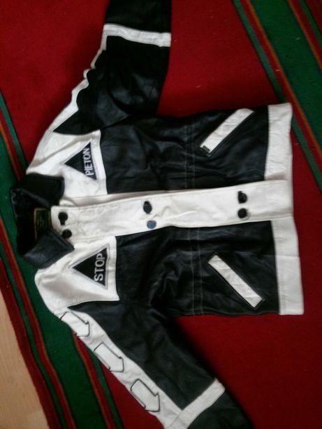 куртка кожанная u.s.s
