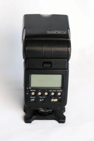Vendo Flash Canon Speedlite 550 EX em bom estado