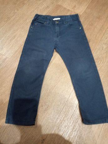 Фирменные коттоновые штаны, джинсы, брюки 2-3 года HsM
