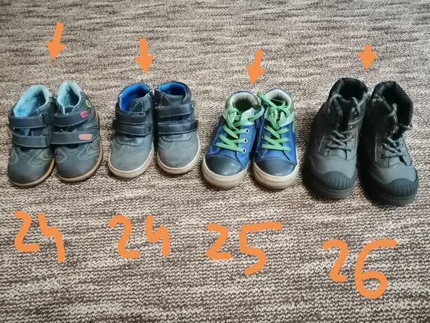 Продам детские демисезонные ботинки 24,25,26 р