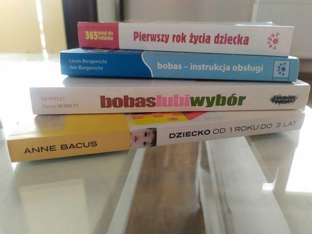 Zestaw książek niemowlę dziecko bobas lubi wybór