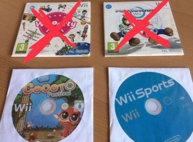 Jogos Consola Nintendo Wii - Wii Sports , Wii Party , Mario Kart
