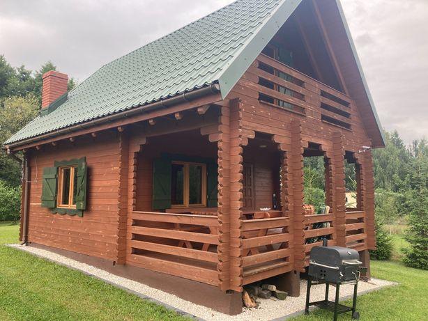 Domek nad jeziorem Głuszyńskim