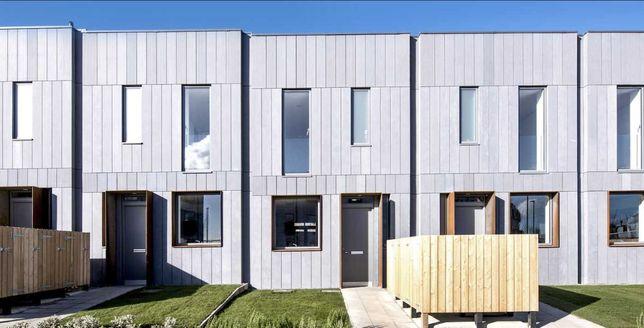 Zabudowa szeregowa 10 domów jednorodzinnych szeregowiec domy modułowe