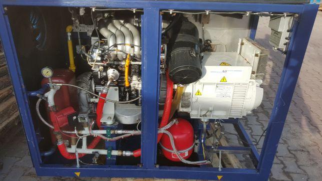 agregat prądotwórczy Marelli generators MJB 225 MA4 B 100KVA 85kw 16r