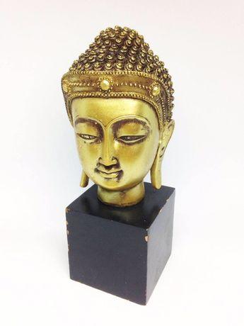 Busto Buda Dourado