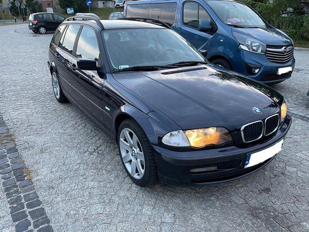 BMW e46 318i Touring 1,8 benzyna  118 KM manual klimatyzacja ABS ASC